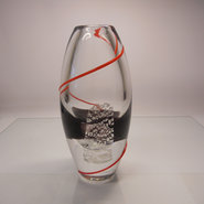 Red Wire Vase, Small